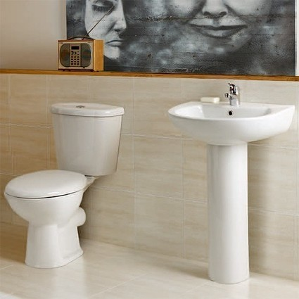 Vision Bathroom Suite With 1700x760mm Freestanding Bath. Hydra K-VISIONSUITE | Showers, Taps & Bathrooms | Scoop.it
