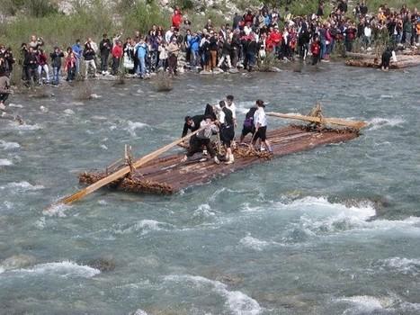 Las nabatas surcan el río Cinca con alta asistencia de público | Vallée d'Aure - Pyrénées | Scoop.it