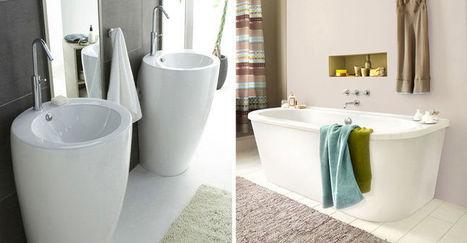 Relooker une salle de bains en 12 idées   DECORATION  DESIGN   Scoop.it