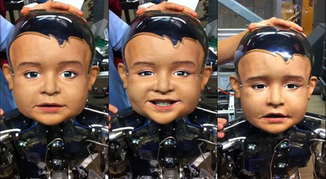 UCSD's Diego-san Robot demonstrates different facial expressions | Amazing Science | Scoop.it