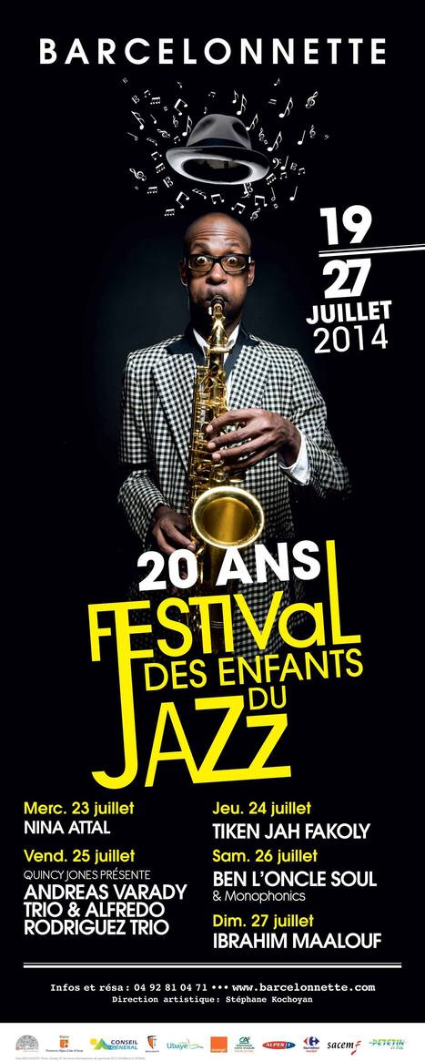Quatre soirées pour les 20 ans des Enfants du Jazz   Evènements   Scoop.it