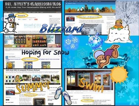 Winter in Michigan | Techie Kids | Blogging 101 | Scoop.it