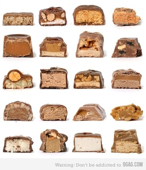Chocolate bars cross section   Food Culture   Scoop.it