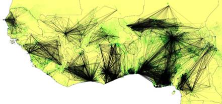 Cell-Phone Data Could Help Predict Ebola's Spread