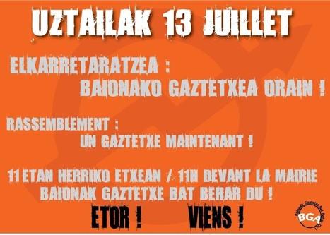 Un gaztetxe pour Bayonne ! - BABinfo | BABinfo Pays Basque | Scoop.it