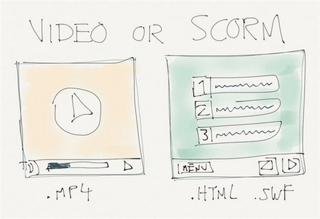 Video or SCORM? - Designed For Learning | Formación y Desarrollo en entornos laborales | Scoop.it