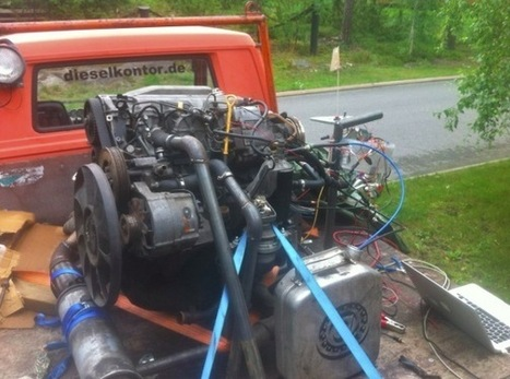 Arduino Blog » Blog Archive » An electronic diesel engine controlled with Arduino Mega | Arduino, Netduino, Rasperry Pi! | Scoop.it