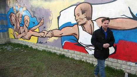 Kislow Joins Seth Globepainter painting hope for Ukraine - Street I Am | Street Art Planet | Scoop.it