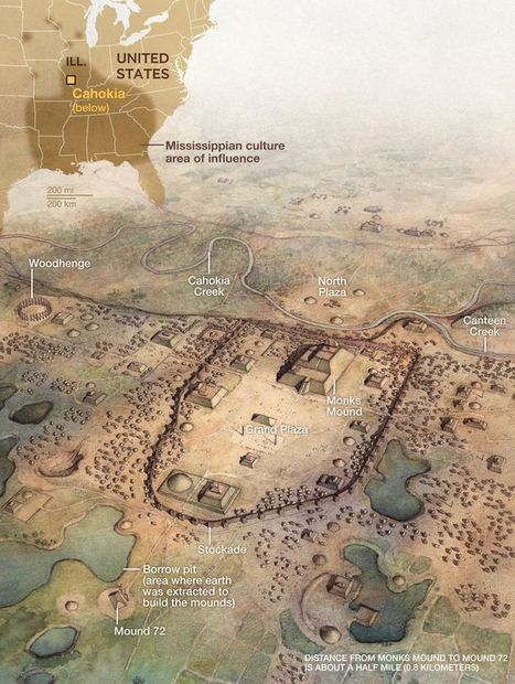 Study Says Cahokia, America's First City, Was a Melting Pot | National Geographic | Kiosque du monde : Amériques | Scoop.it