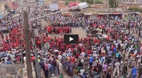 Togo : Vidéo, Manifestations CST / Arc-en-ciel. 1er jour, une marée de femmes en rouge dans les rues de Lomé ce 21 mai 2013 • 27avril.com | Togo Actualités | Scoop.it