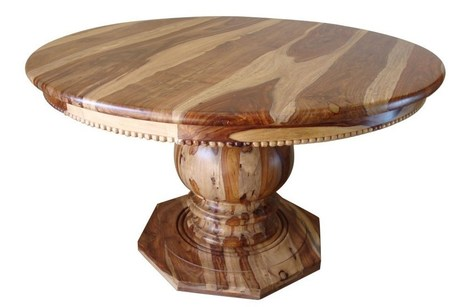 Round Rustic DiningTable   Rustic Tables   Scoop.it