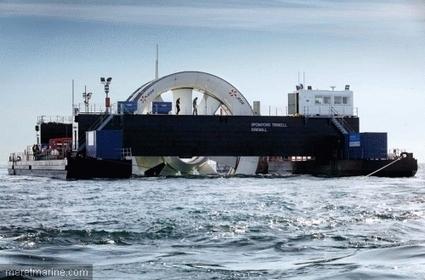 L'hydrolienne Arcouest remontée, que va-t-il se passer maintenant ? | Structure offshore | Scoop.it