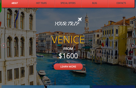 YourTrip Responsive html5 Template | HTML and CSS | Scoop.it
