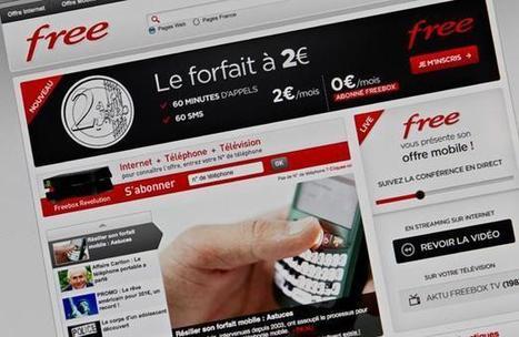 Téléphonie: Free mobile pèse désormais 4,6% du marché   Web, informatique, téléphonie, actu   Scoop.it