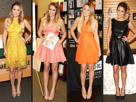 What's Up with Lauren Conrad's A-Line Dress Obsession? | Fashion | Scoop.it