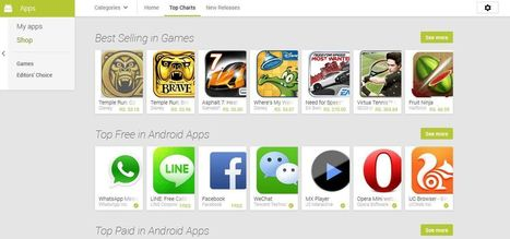 Google Brings new Android UI to the Google Play web store | Technology | Scoop.it