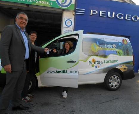 Lacaune. Nouveau véhicule pour l'office de tourisme - LaDépêche.fr | Lacaune et les Monts de Lacaune | Scoop.it