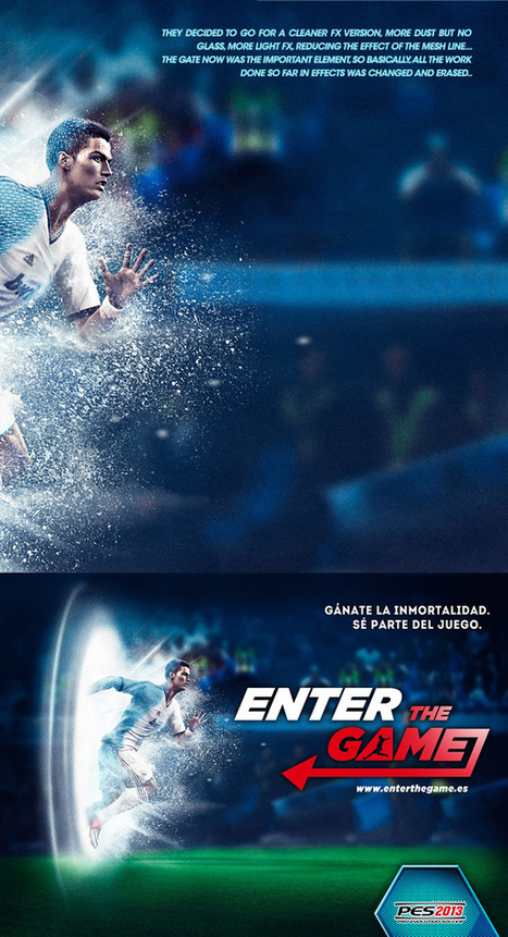 PES 2013 Photoshop and Cinema 4D Case Study | Abduzeedo Design Inspiration & Tutorials | Digital-News on Scoop.it today | Scoop.it