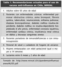 Revista chilena de infectología - Vacuna anti-influenza en niños: Estado del arte | Gripe e influenza | Scoop.it