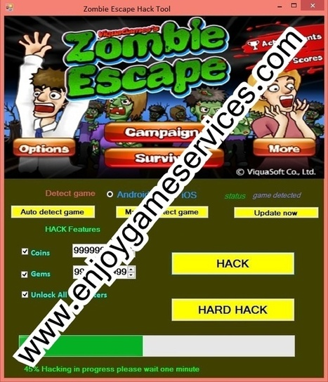 Zombie Escape Hack Tool | game | Scoop.it