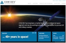 The Commercial Space Blog: Part 1: A Short History of COM DEV International | More Commercial Space News | Scoop.it