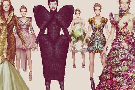 Ignasi Monreal's Fashion Illustrations | Trendland: Fashion Blog ... | fashion | Scoop.it