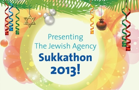 Number One Sukkah: The Jewish Agency Sukkathon | Jewish Education Around the World | Scoop.it