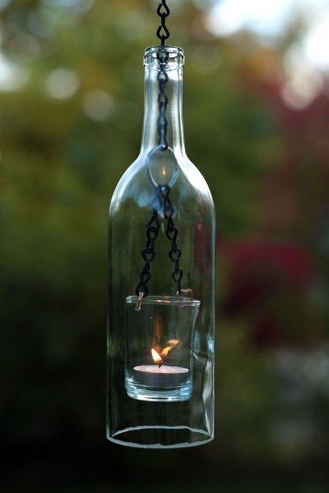 Dishfunctional Designs: Glass Bottles: Upcycled & Repurposed As Home Decor | UpCycle | Scoop.it