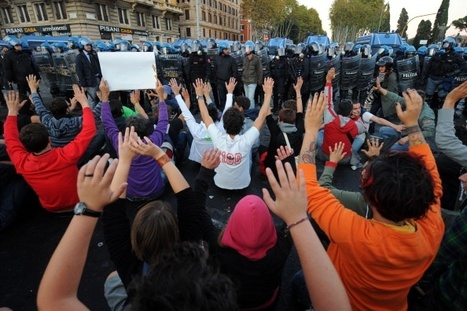 Occupy Protest Turns Violent in Rome | Agora Brussels | Scoop.it