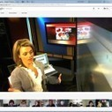 How news anchor Sarah Hill is revolutionizing broadcast journalism using Google+ hangouts | Multimedia Journalism | Scoop.it