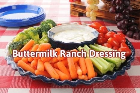 Easy Buttermilk Ranch Dressing   Best Easy Recipes   Scoop.it