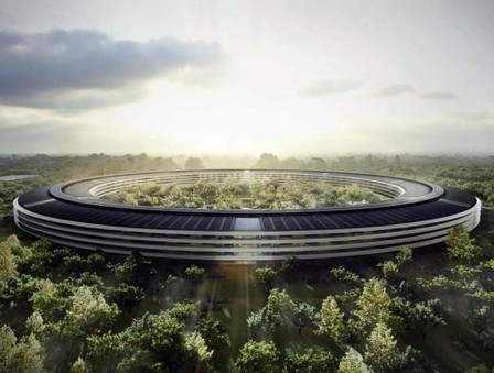 Updated Plans Released for Foster + Partners' Apple Campus in Cupertino | The Architecture of the City | Scoop.it