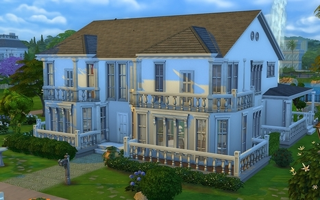 39 maison 39 in les sims page 4 for Exterieur sims 4