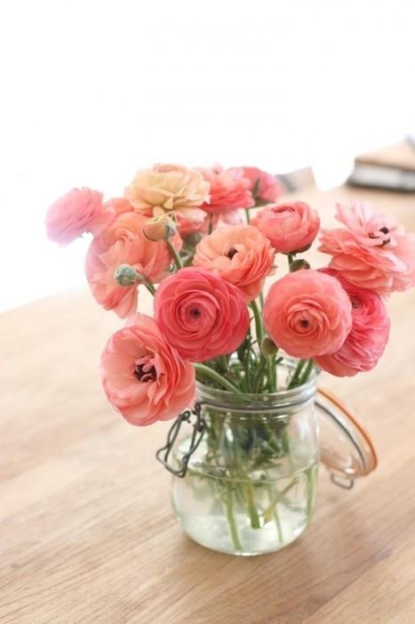 Décorer avec des fleurs – Cocon de décoration: le blog | Décoration | Scoop.it