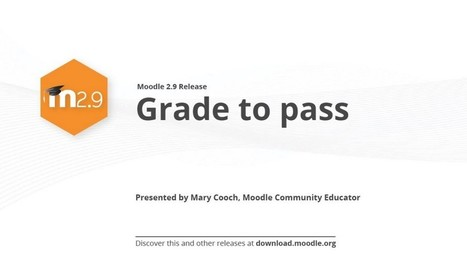 Moodle 2.9 Grade to Pass - Moodle Tuts | DB: Moodle para docentes | Scoop.it