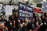 Gay Marriage Gains Ground in Poll as Court Readies Ruling | Law12 Ch16. Marriage Galia,Houston,Henry | Scoop.it