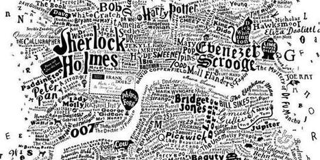 The Literary Map of London | Londra in Vacanza - London on holiday | Scoop.it
