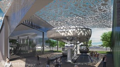 Le futur quartier Interives à l'heure des choix | transports par cable - tram aérien | Scoop.it