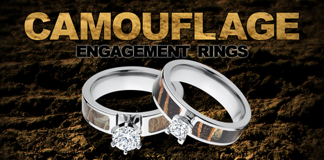 Camo Rings : Camouflage Wedding Bands : Duck Bands : Sports Rings | Camo rings for men | Scoop.it