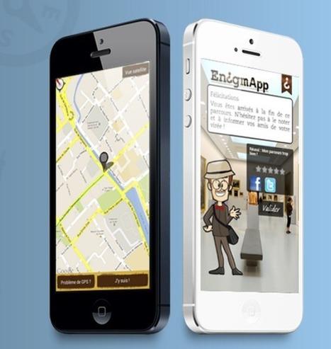 Enigmapp, un outil auteur pour des parcours ludiques | Android Apps for EFL ESL | Scoop.it