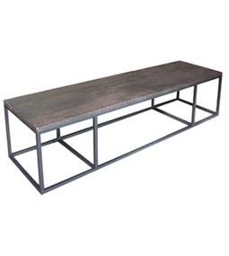 Dadra | Mesas de centro hierro forjado y madera a medida | MESA DE CENTRO CUBO GIRONA DE HIERRO Y MADERA | Mesa de centro  hierro y madera | Scoop.it