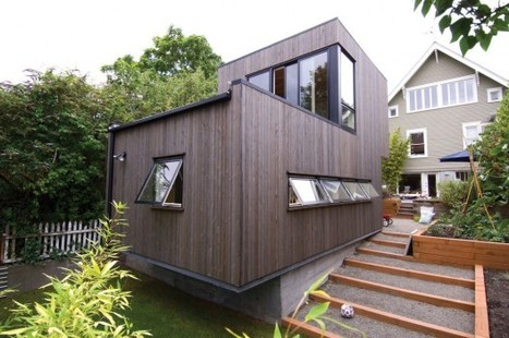 Pop-out Studio / Hutchison & Maul Architecture | Idées d'Architecture | Scoop.it