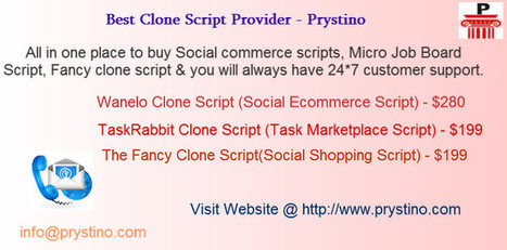 Best Clone Script Provider- Prystino | Clone Script | Scoop.it