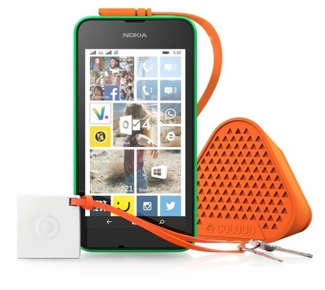 Microsoft lance son Lumia 530, un smartphone à… 85 euros!   geeko   Web scoop   Scoop.it
