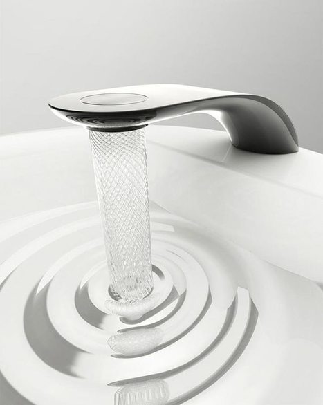 Student's Faucet Design Saves Water By Swirling It Into Beautiful Patterns | Front End Innovation | Scoop.it