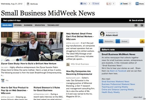 Aug 1 - Small Business MidWeek News | Business Futures | Scoop.it