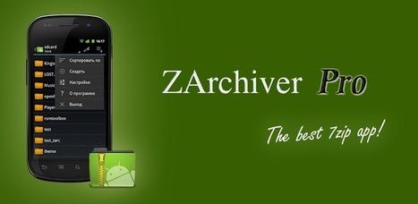 ZArchiver Donate v0.6.7 - APK Pro World | APK Pro Apps | Scoop.it