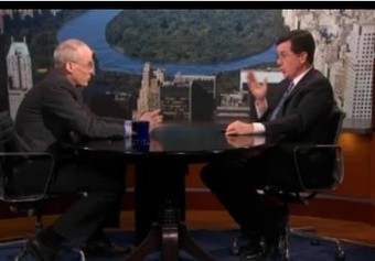 Bill McKibben Talks Keystone XL on Colbert Report (Video) | Local Economy in Action | Scoop.it