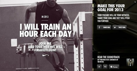 Quand Nike transforme une pub sur YouTube en pub interactive | C'est la watch. | Scoop.it
