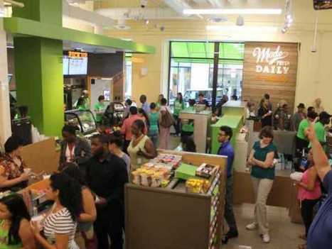 Check Out The High-Tech 7-Eleven That Just Opened In The Financial District | Foodservice Chatter | Scoop.it